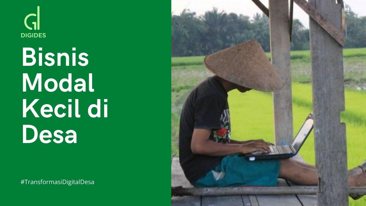 3 Ide Bisnis Modal Kecil di Desa, Mulai Sekarang ...
